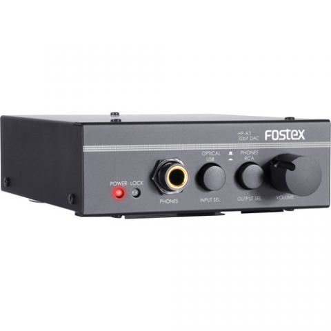 Fostex HP-A3 32-Bit D/A Convertor with Headphone Amp by Fostex