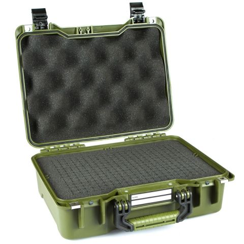 GoGORIL G20 Hard Case with Cubed Foam (Green) by GoGoril