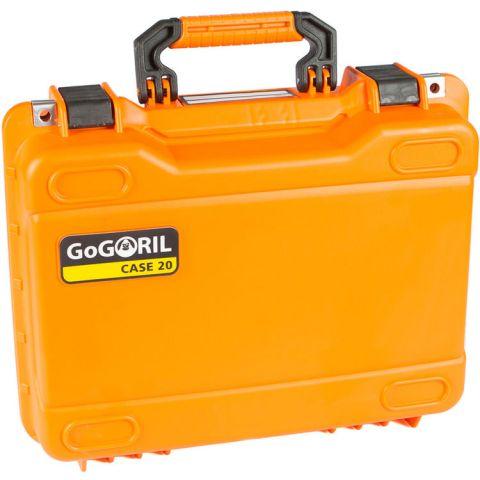 GoGORIL G20 Hard Case (No Foam, Orange) by GoGoril