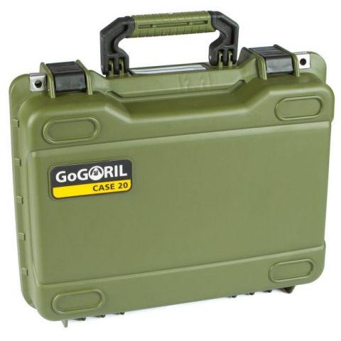 GoGORIL G20 Hard Case (No Foam, Green) by GoGoril