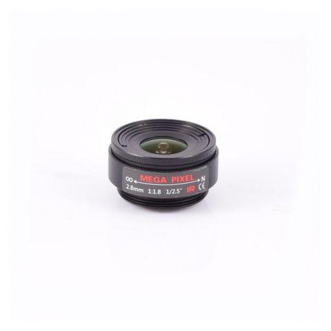 AIDA Imaging CS-2.8F CS Mount 2.8mm Fixed Focal Mega-Pixel Lens by AIDA Imaging