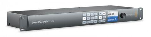 Blackmagic Design VHUBSMART6G1212 Smart Videohub 12x12 by Blackmagic Design