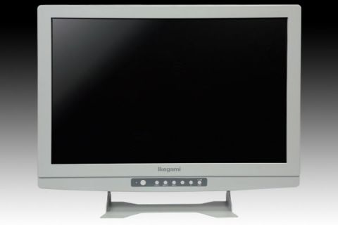 IKEGAMI MLW-2425C 24 inch Color LCD Monitor featuring by Ikegami