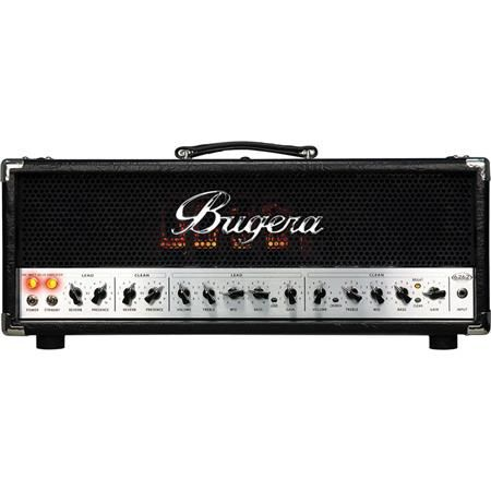 Bugera 6262 Infinium Ultimate Rock Tone 120W 2-Channel Tube Amplifier Head with Reverb and Infinium Tube Life Multiplier by N/A
