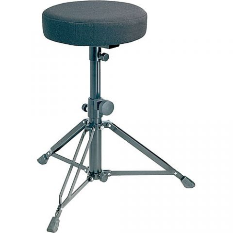 K&M 14016-000-55 Drummer's Throne (Black) by KM