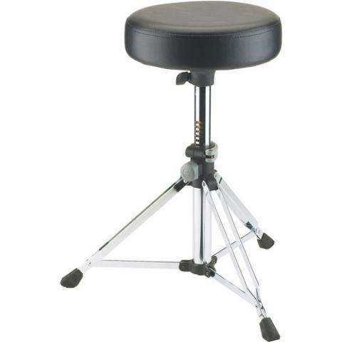 K&M 14030 Grande Drummer's Throne (Chrome) by KM