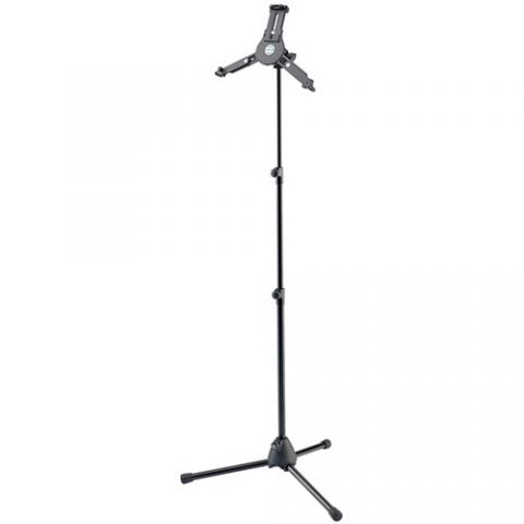 K&M 19793 Tablet PC Stand with Tripod Base (Black) by KM