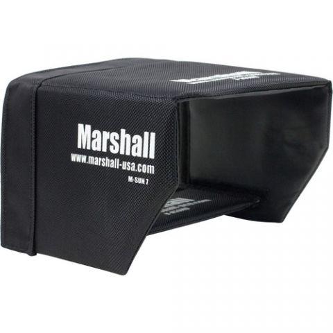 "Marshall Electronics  Sun Hood for M-CT7 7"" Camera Monitor by Marshall Electronics"