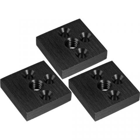 Marshall Electronics  V-LCD70TMB-02 Tripod Mount Brackets (Set of 3) by Marshall Electronics