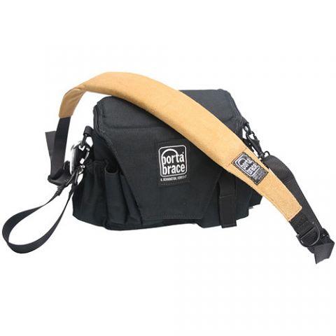 Porta Brace AC-3 Assistant Camera Pouch with Shoulder Strap (Large, Midnight Black) by Porta Brace