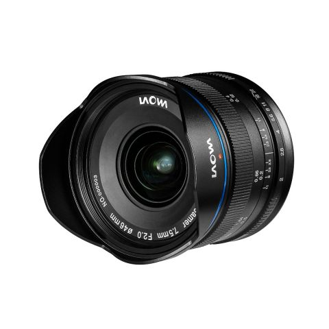 Laowa 7.5mm f/2 MFT Lens for Micro Four Third cameras (Standard Black) by Laowa