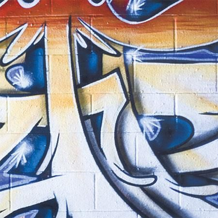 Lastolite Urban Collapsible 5x7' (1.5x2.1m) Distressed Paper/Graffiti Background by Lastolite