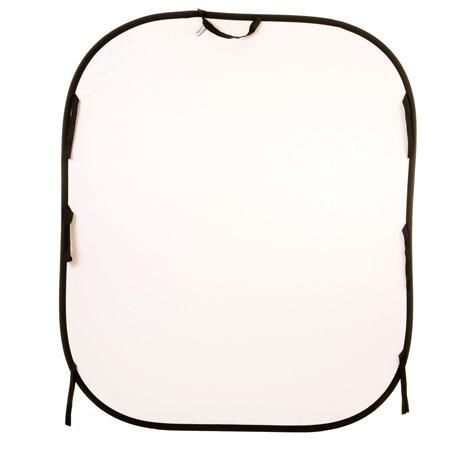 Lastolite 6x7' Collapsible Background, White/Mid Gray by Lastolite