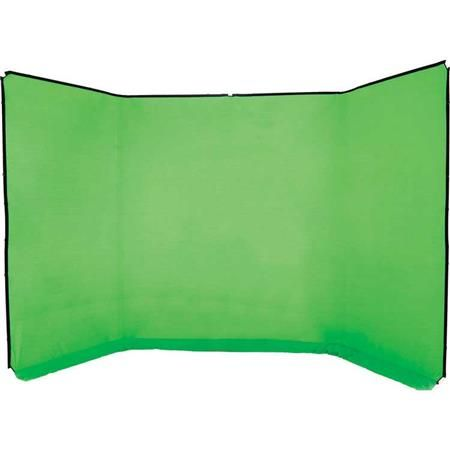 Lastolite Panoramic 13' Background Fabric for Frames, Chromakey Green (Frame Not Included) by Lastolite