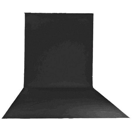 "Lastolite 9'x19'6"" Vinyl Backgrounds Roll, Black by Lastolite"