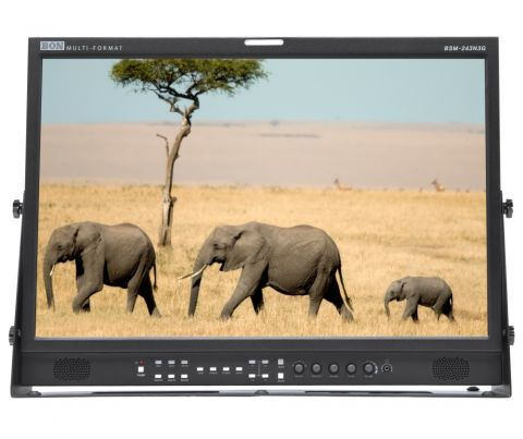"Bon BSM-243N3G_E 24"" 3G-SDI / HDMI LCD Studio Monitor by BON"