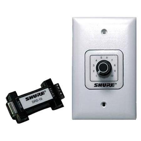Shure DRS-10 Digital Remote Switch for DFR11EQ Version 5 & P4800 Audio Processor by Shure