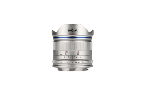 Laowa 7.5mm f/2 MFT Lens for Micro Four Third cameras (Lightweight Silver) by Laowa