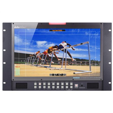 "Datavideo TLM-170PR 17.3"" HD/SD TFT LCD 7U Rackmount Monitor by Datavideo"