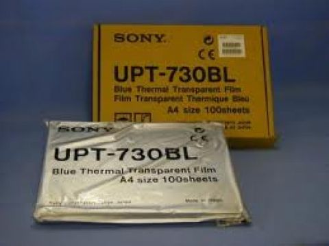 Sony UPT-730BL Blue Thermal Transparent Film by Sony