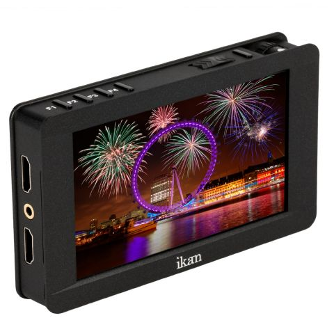 """Ikan DH5e 5"""" 4K Support HDMI On-Camera Field Monitor w/ Touch Screen by Ikan"""
