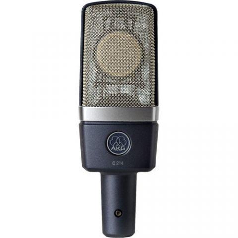 AKG C214 Large-diaphragm Condenser Microphone by AKG
