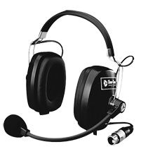 Clear-Com CC-60 Intercom Headsets with Flexible Neck Microphones by Clear-Com