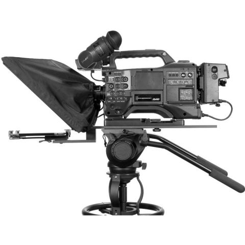 Datavideo TP-650 Large Screen Prompter Kit for Professional ENG Cameras by Datavideo