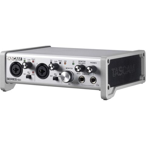 Tascam SERIES 102i 10 IN/2 OUT USB Audio/MIDI Interface by Tascam