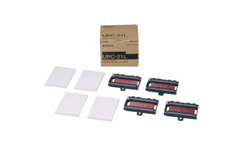 Sony UPC-21L A6 Large-size color print pack for use with UP-20, UP-21MD, UP-25MD and UP-D23MD, UP-D25MD printers by Sony
