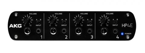 AKG Acoustics 4-Channel Headphone Amplifier by AKG