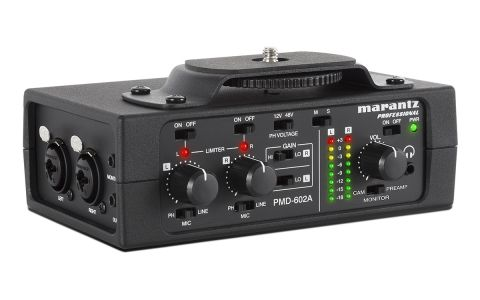 Marantz PMD-602A 2-Channel DSLR Interface by Marantz
