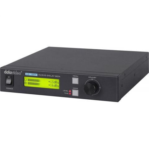 Datavideo AD-100M Audio Delay Box with Microphone Input by Datavideo