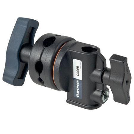 """Avenger 2 1/2"""" Black Grip Head with """"T"""" Top and 5/8"""" Socket. by Avenger"""