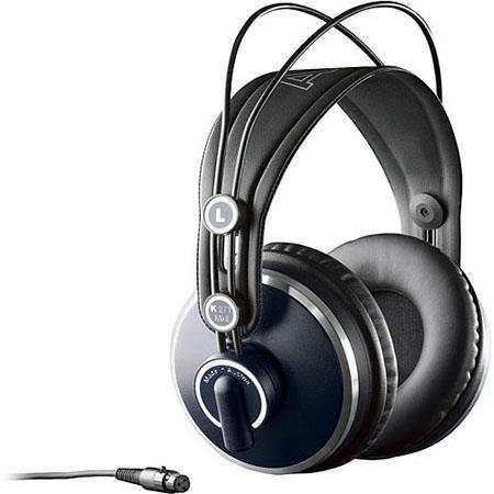 AKG Acoustics K 271 MK II Professional Studio Headphones, 16Hz - 28kHz Frequency Range, 55Ohms Impedance, 91dB Sensitivity by AKG