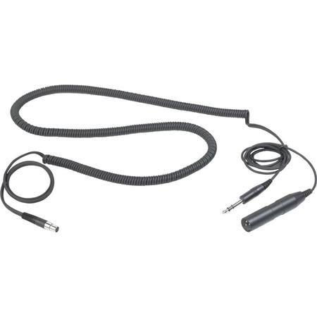 "AKG Acoustics MK HS Studio C Headset Cable for Studio/Moderators/Commentators, HSC/HSD Headsets, 3-Pin XLR male, 1/4"" Stereo Jack by AKG"