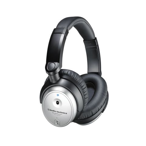 Audio-Technica ATH-ANC7b-SViS QuietPoint Active Noise-Cancelling Headphones by Audio-technica
