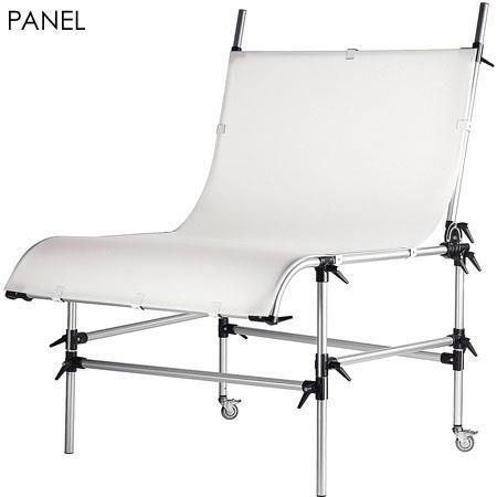 """Manfrotto White, Translucent Plexiglass Panel for Still Life Table, Panel Size: 78.8x49.25"""" by Manfrotto"""