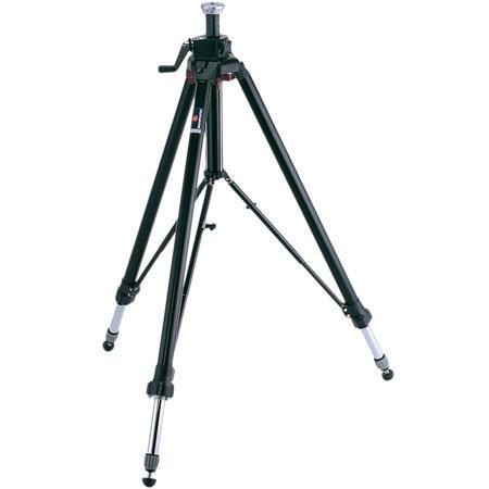 """Manfrotto 058B Black Tripod Legs (Height 17.4-85.5"""", Maximum Load 26.50 lbs) (#058B) by Manfrotto"""