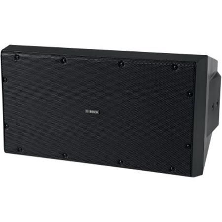 """Bosch LB20-SW400-D 2x 10"""" Cabinet Subwoofer with IP65 Port Covers, 1600W Peak, IP54, Black by Bosch"""
