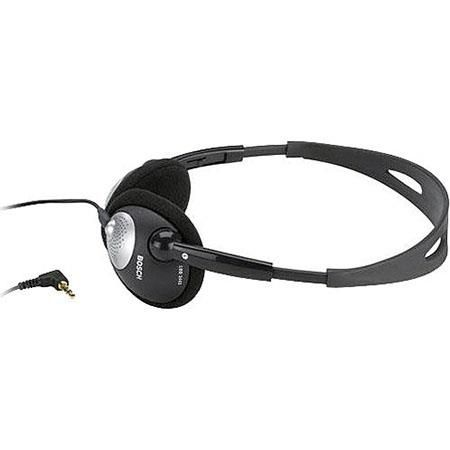 Bosch LBB3443 Lightweight Stereo Headphones with Durable Cable, 50Hz to 20kHz Frequency Response, 32 Ohms Impedance by Bosch
