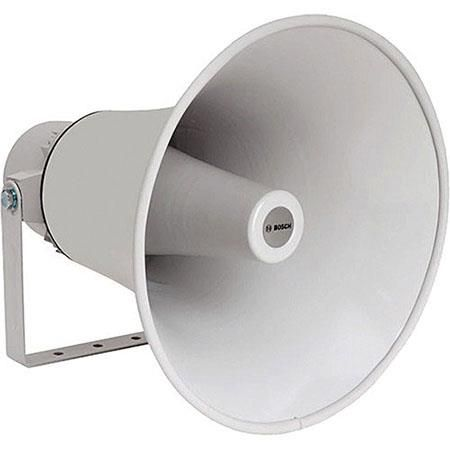"Bosch LBC 3482/00 25W 14"" Horn Loudspeaker, Evac, 550Hz-5kHz Frequency Range, 400ohms Impedance, Light Gray by Bosch"