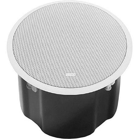 "Bosch LC2-PC60G6-10 10"" 60W Premium-Sound Subwoofer Ceiling Loudspeaker, 8 Ohm Impedance, 45Hz to 150Hz Frequency Range, Single, White by Bosch"