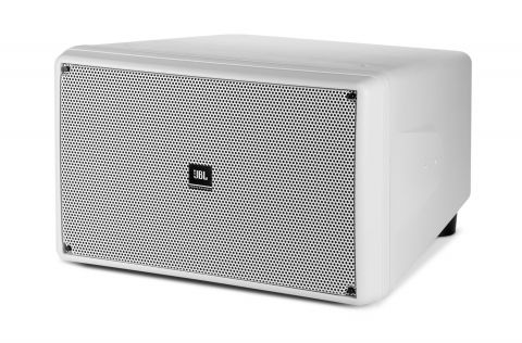 """CONTROL SB2210 Dual 10"""" Compact Subwoofer in White by JBL"""