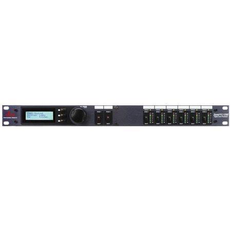 DBX 1260 ZonePRO 12x6 Digital Zone Processor with Front-Panel Control by DBX