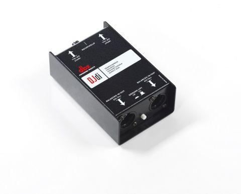 DBX DJDI 2-channel Passive Direct Box by DBX
