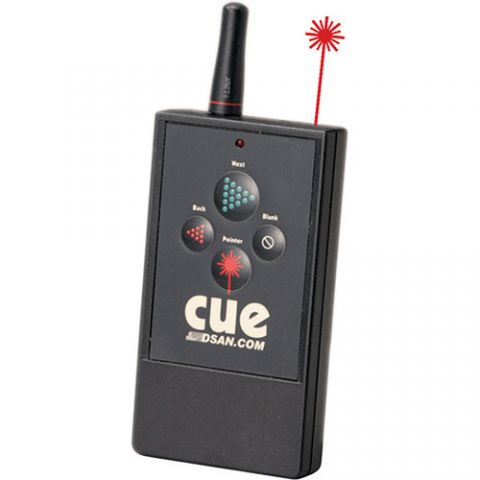 DSAN Corp. PerfectCue Wireless Transmitter (4-Button) by DSAN