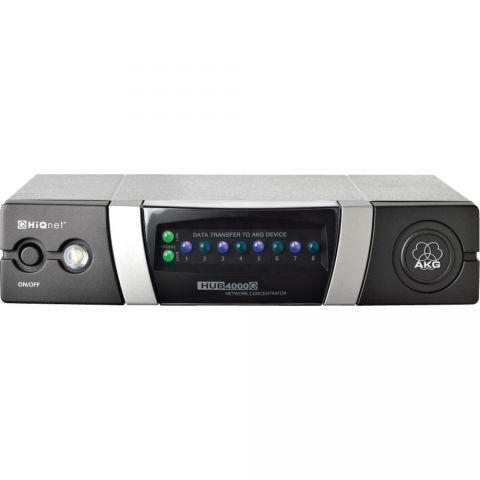 AKG HUB4000 Q HIQNET ethernet interface by AKG