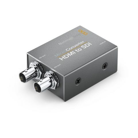 Blackmagic Design CONVCMIC/HS Micro Converter - HDMI to SDI (No Power Supply) by Blackmagic Design