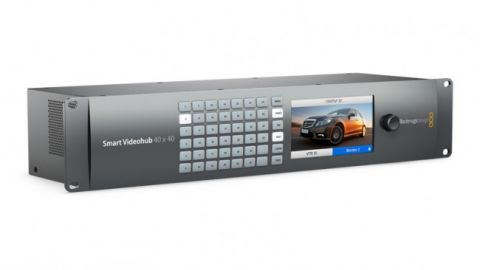 Blackmagic Design VHUBSMART6G4040 Smart Videohub 40x40 by Blackmagic Design
